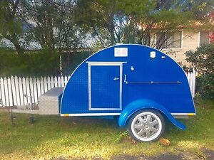 2014 Teardrop Camper Lawson Blue Mountains Preview