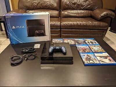 Sony PlayStation 4 Console - SSD Installed - Includes Games and Accessories