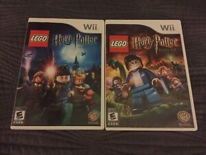 Lego Harry Potter 1-4 and 5-7 for Wii & Wii-U