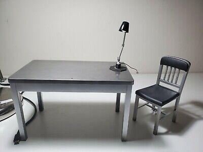 US SELLER Hot Toys Joker DX11 2.0 1/6 Custom Dark Knight Batman Table Lamp Chair