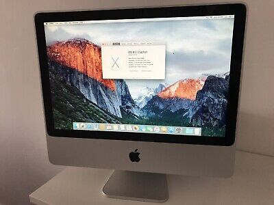 Apple iMac (20-inch, Early 2008) 2.4GHz, 3GB, 640GB HDD + Original Box