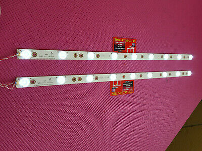 2PC SANYO TV DP55D44 STRIP LED LIGHT  TCL_ODM_55_NASanyo_3030C_11X9_9S1P REV:V0