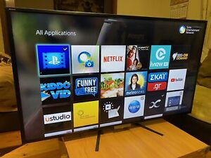 """55""""Sony Bravia Smart 3D tv wifi led full HD excellent working2 remote"""