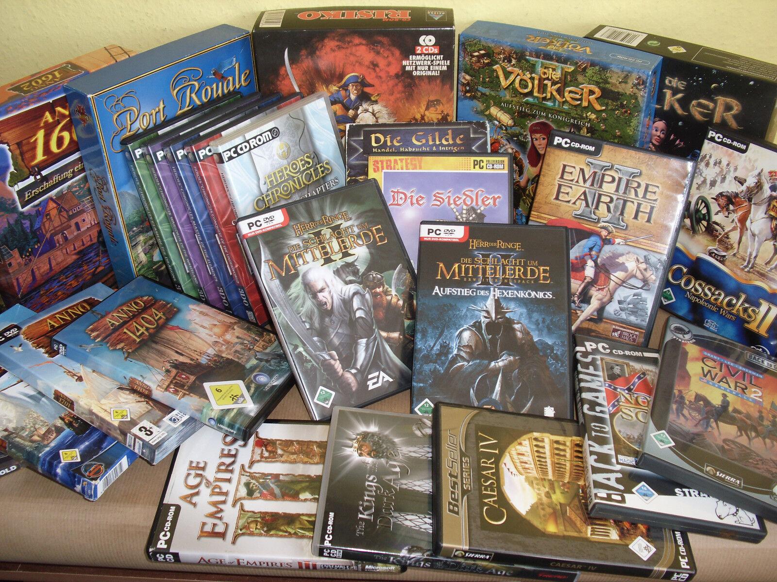Strategie PC Spiele Klassiker zum aussuchen