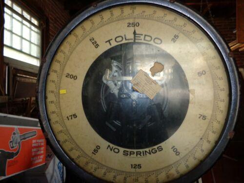 Vintage Floor Model 250 lbs.Toledo Scale Style 801A