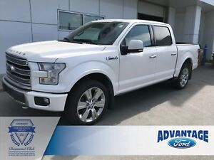 2017 Ford F-150 Limited Trailer Tow - Heated/Cooled Leather S...