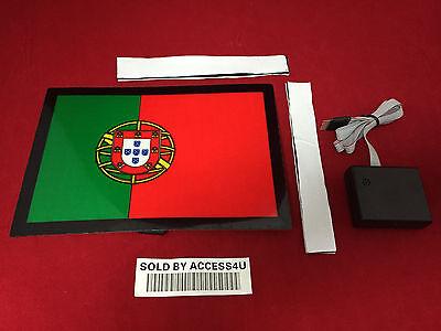 sound Activated LED Flashing Lights PORTUGUES PORTUGAL FLAG SENSOR FOR T SHIRT