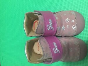 Geox girl shoes size 6 1/2