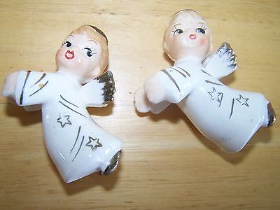 Vintage Made In Japan Angel Candle Grippers