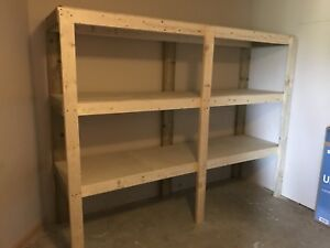 Two Storage shelves (In Lake Country)
