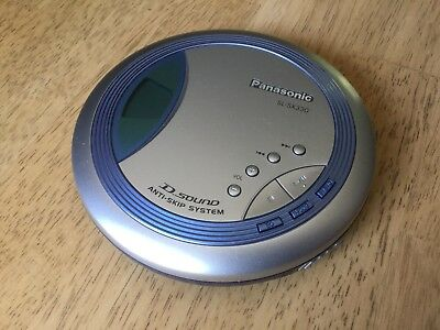 PANASONIC SL-SX330 Portable CD Player D-Sound Anti-Skip System for sale  Ontario
