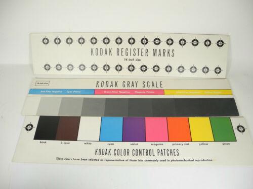 Kodak Color Separation Guides 14 inch
