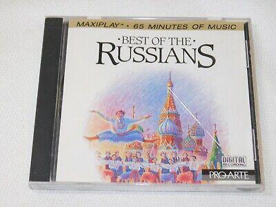 Best of the Russians (CD, 1987, Pro-Arte Records) Largo e Maestoso Allegro