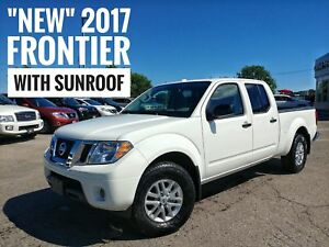 2017 Nissan Frontier SV Sunroof Heated Seats  FREE Delivery