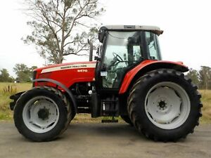 Late Model Massey Ferguson 5470 Dyna 4 125hp Agricultural Farm Tractor Austral Liverpool Area Preview