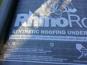 Rhino roofing underlayment