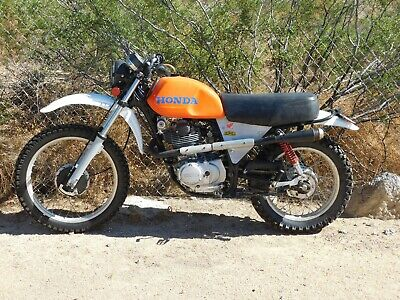 '78 Honda XL412 XL 350 Vintage MX MotoCross STREET LEGAL w/TITLE CORE Rebuilder