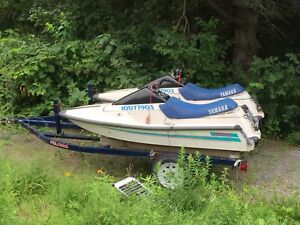 1990 Yamaha wave runner(s) for sale with trailer