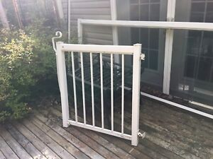 Aluminum Glass Fence/Railing with gate
