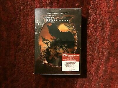 Batman Begins with Christian Bale : Limited Edition Giftset