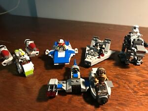 5 x LEGO Star Wars Micro Fighters