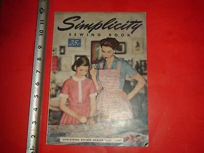 BC270 Vintage 1954 Issue Simplicity Sewing Book Magazine