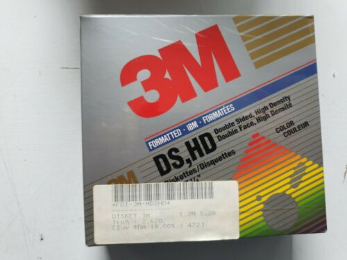 3M DS,HD 1.2M DISKETTES