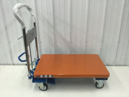 SOUTHWORTH - L-250 Scissor Lift Cart 550 lb. Steel Fixed