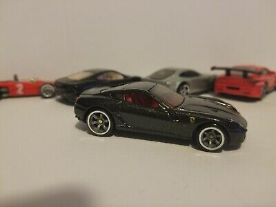Hot Wheels 2010 Speed Machines Ferrari 599 GTB Fiorano black Plus extras Loose