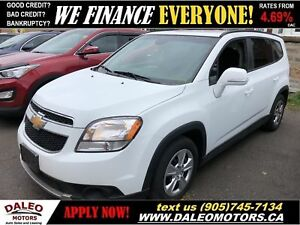 2014 Chevrolet Orlando 1LT|7 SEATER| BLUETOOTH| MP3 CAPABILITY