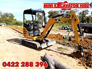 Excavator Hire in Hervey Bay Pialba Fraser Coast Preview