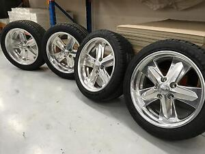 Boyd Coddington 18' wheels & tyre new Campbellfield Hume Area Preview