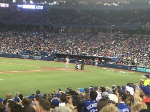 Blue Jays tickets for Tuesday less than half price or trade