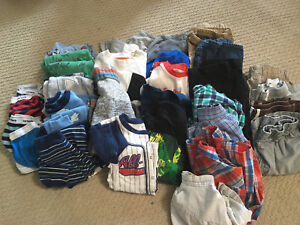 Lot of Boy's Size 7 Clothes