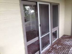 sliding glass doors timber frame x 3 ($300 total or $100 each) Merewether Newcastle Area Preview