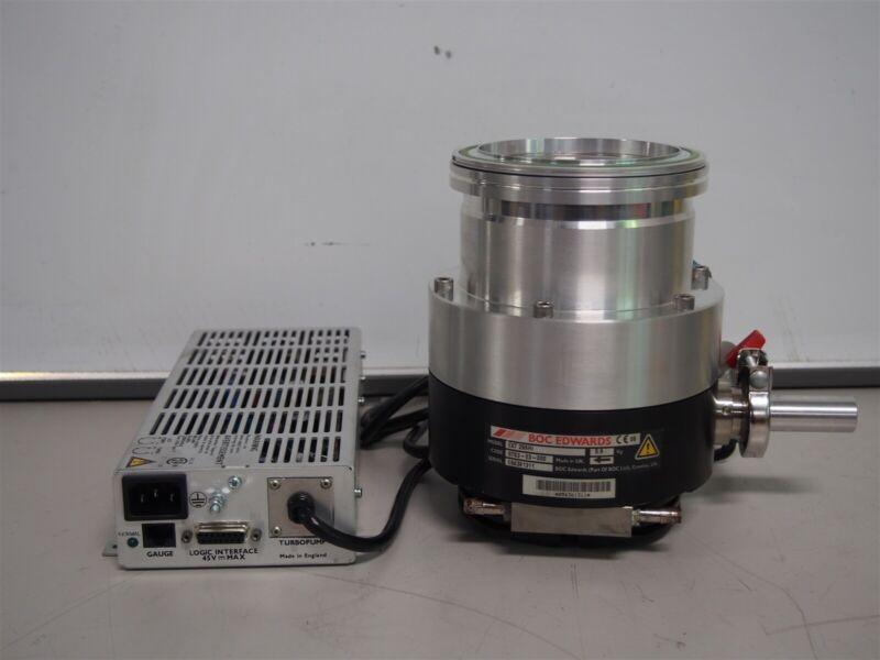 Boc Edwards EXT 255Hi Turbomolecular Vacuum Pump With Pump Controller EXC100L