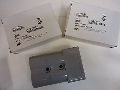 Anderson Power Plug And Socket Connector 6320g1 3 Pcs
