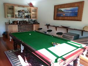 Billiard Table - Heiron & Smith 9 foot 'Commonwealth' Pool Table Pyrmont Inner Sydney Preview