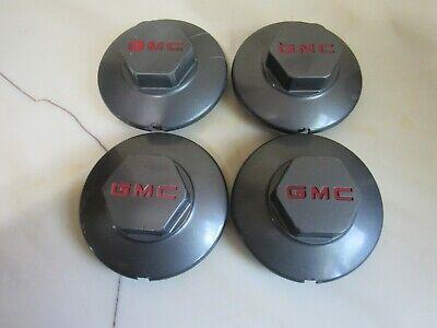 Set of 4 1994-2002 GMC Jimmy Sonoma S15 Center Wheel Caps