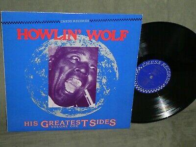 HOWLIN WOLF His Greatest Sides Vol 1 Elec Blues CHESS CH-9107 U.S. Lp  NM +