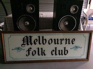 Melbourne folk club. Antique Croydon South Maroondah Area Preview