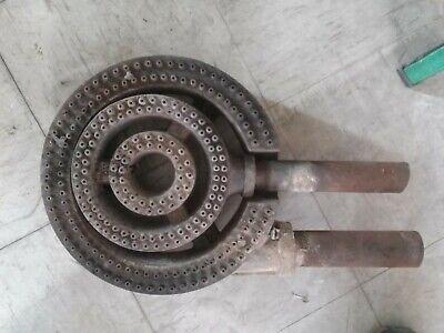 Vintage Cast Iron Natural Gas Burner 12