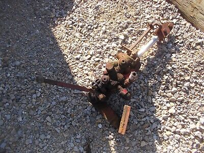 Massey Harris 81 Tractor Mh Hydraulic Hitch Lift Cylinder