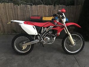 Honda Crf250x long rego North Narrabeen Pittwater Area Preview