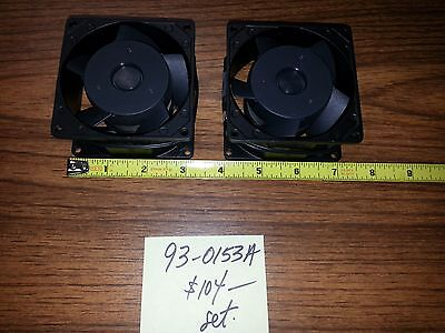 10hp Vector Drive Fan Set Of 2 Each As Compared To Haas Pn 93-0153a