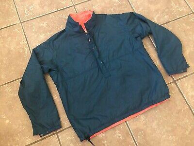 PATAGONIA 1/2 ZIP REV SNAP WIND-RAIN BREAKER VINTAGE JACKET MENS SIZE XL Zip Wind Rain Jacket
