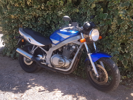 Suzuki GS500 Learner approved