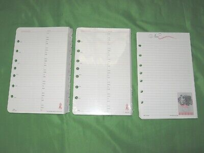Desk Pink Ribbon Refill Lot Day Timer Planner Classic Note Pad Franklin Covey