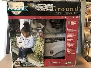 In-Ground Cat Fence