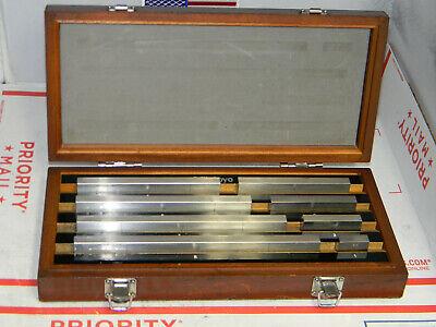 Mitutoyo Steel Gage Block Set516-1268pc Grade 2